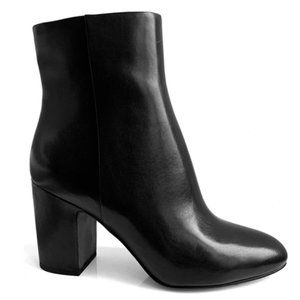 """WHAT FOR PARIS """"Miala"""" Leather Booties"""
